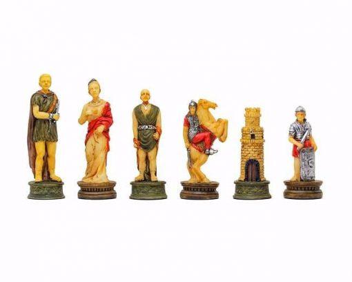 """Jeu d'Echecs en Résine """"Romains vs Gladiateurs"""""""