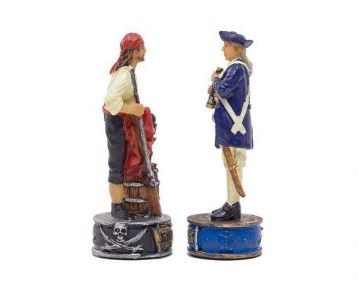 """Jeu d'Echecs en Résine """"Pirates et Marine royale"""""""